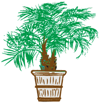 Centrescapes Inc .Logo Palm Tree